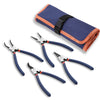 WISEPRO Snap Ring Pliers Set 4 Pieces Heavy Duty 9 Inch Circlip Pliers Kit for Ring Remover Retaining with Storage Pouch