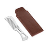 WISEPRO Men's Fine Toothed Beard And Moustache Comb
