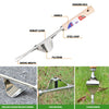 WISEPRO Weeder Tool for Garden Stainless Steel - Bend-Proof ,Hand Weeding Tools for Garden、Yard Lawn and Farm