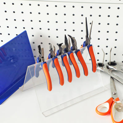 WISEPRO Acrylic Pliers Organizer and Jewelry Tools Storage Holder