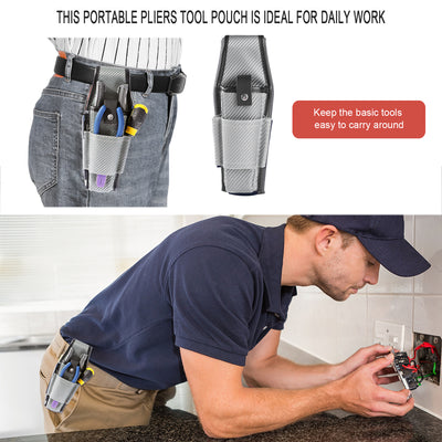WISEPRO 4 Pockets Mini Multipurpose for Tool Pouch