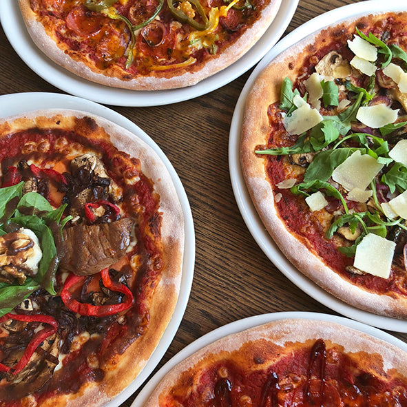 Pizza Party pakket (€ 32,50 voor 4 pizza's)