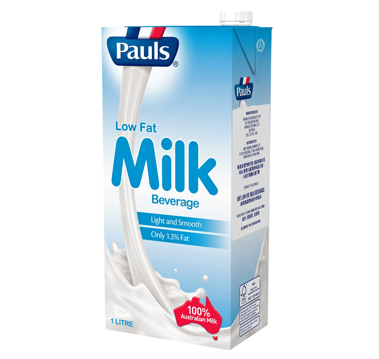 Pauls UHT Full Cream / Low Fat / Skim Milk 1L