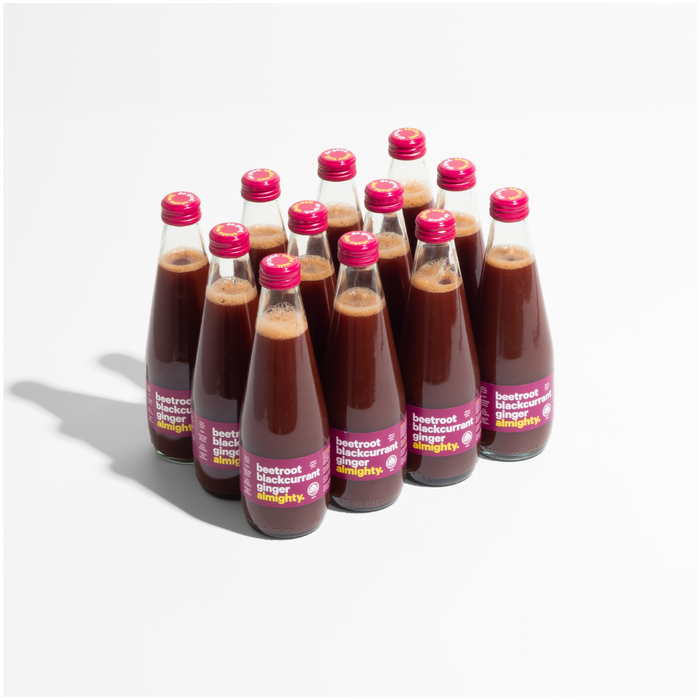 Almighty - Beetroot Blackcurrant Ginger - 300ml (Carton of 12)