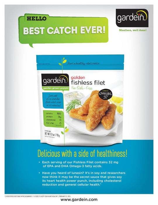 [Buy 1 get 1 FREE] Gardein Fishless Fish 280g