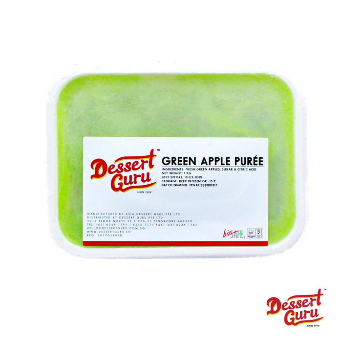 FRESH FRUIT PURÉES  - Green Apple 1kg