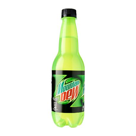 Mountain Dew* - Green / Blue / Black (500ml)
