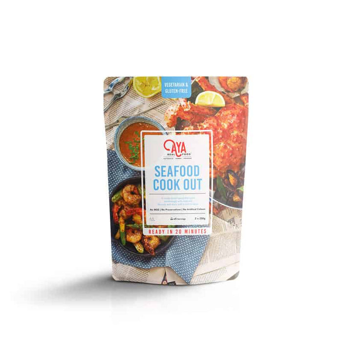 Seafood Cookout  120gm (Mini Pack), 500gm (Value Pack)