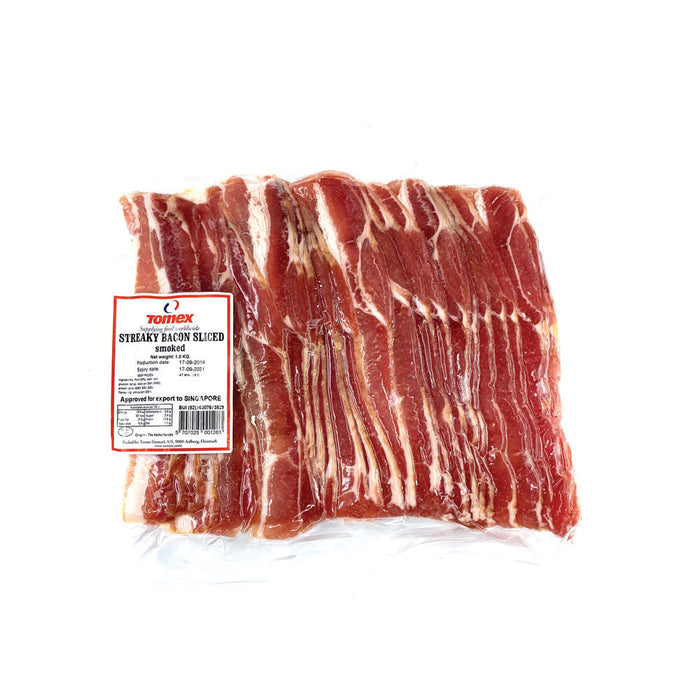 Tomex Streaky Bacon 1kg