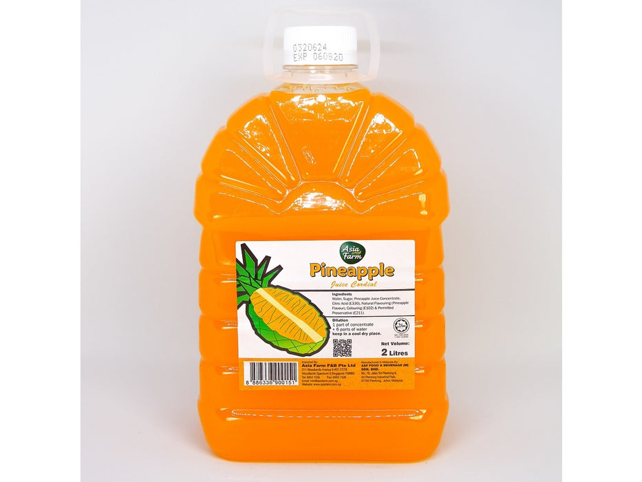 Pineapple Juice Cordial 2 Litre