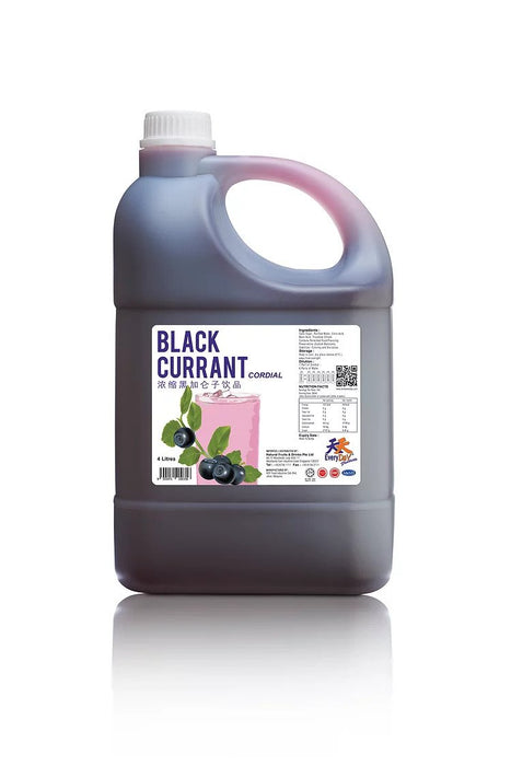Blackcurret Flavoured Cordial 4L