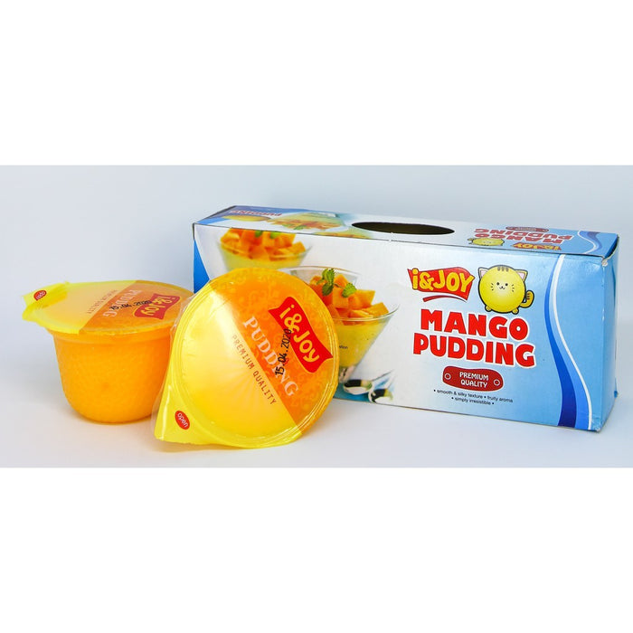 Mango Pudding Bundle of 6 (105g x 3 cups)