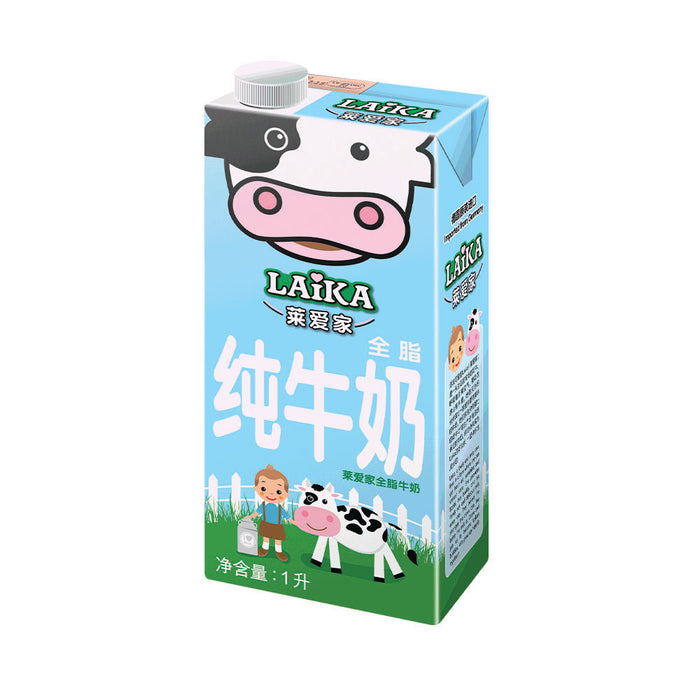 Laika UHT Full Cream Milk 1L