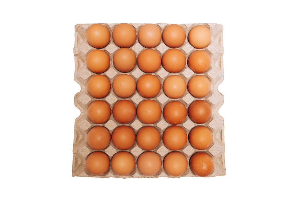 FRESH BROWN EGGS LARGE 30'S