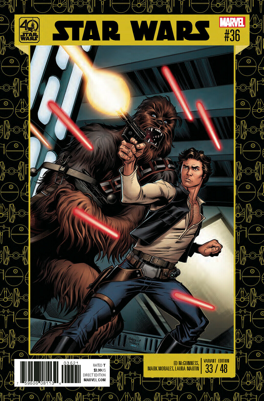 Star Wars #36  40Th Anniv  - *VARIANT*