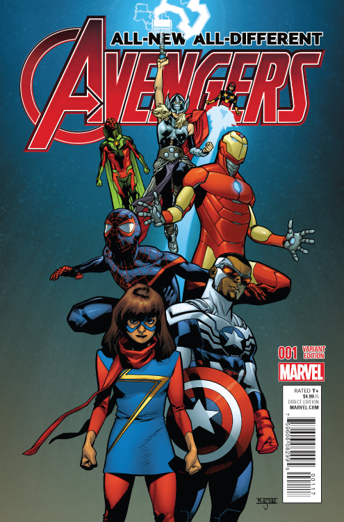 All New All Different Avengers #1  Asrar  - *VARIANT*