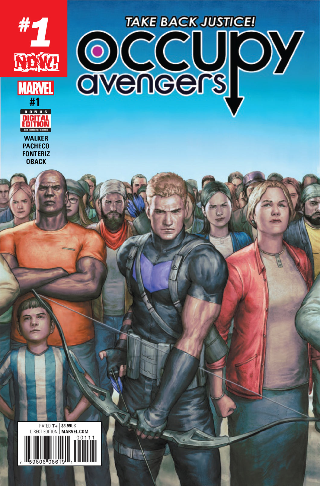 Now Occupy Avengers #1