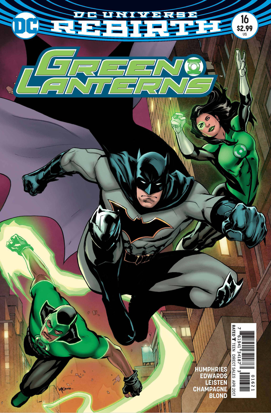 Green Lanterns #16   - *VARIANT*