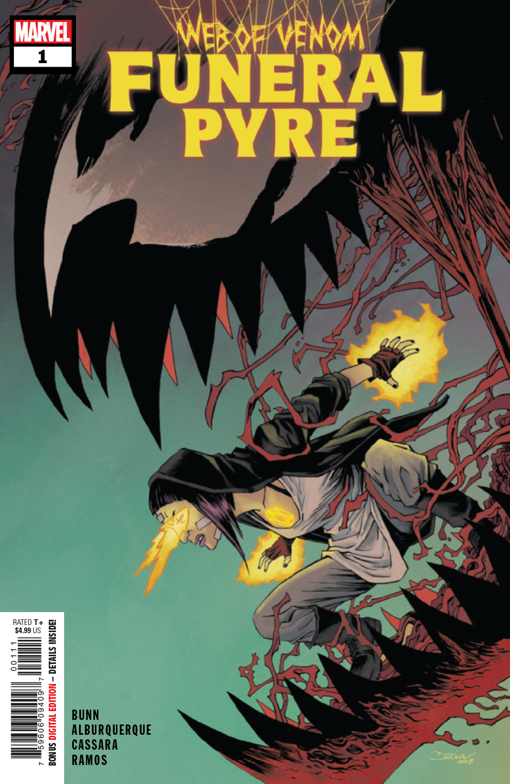 Web Of Venom Funeral Pyre #1