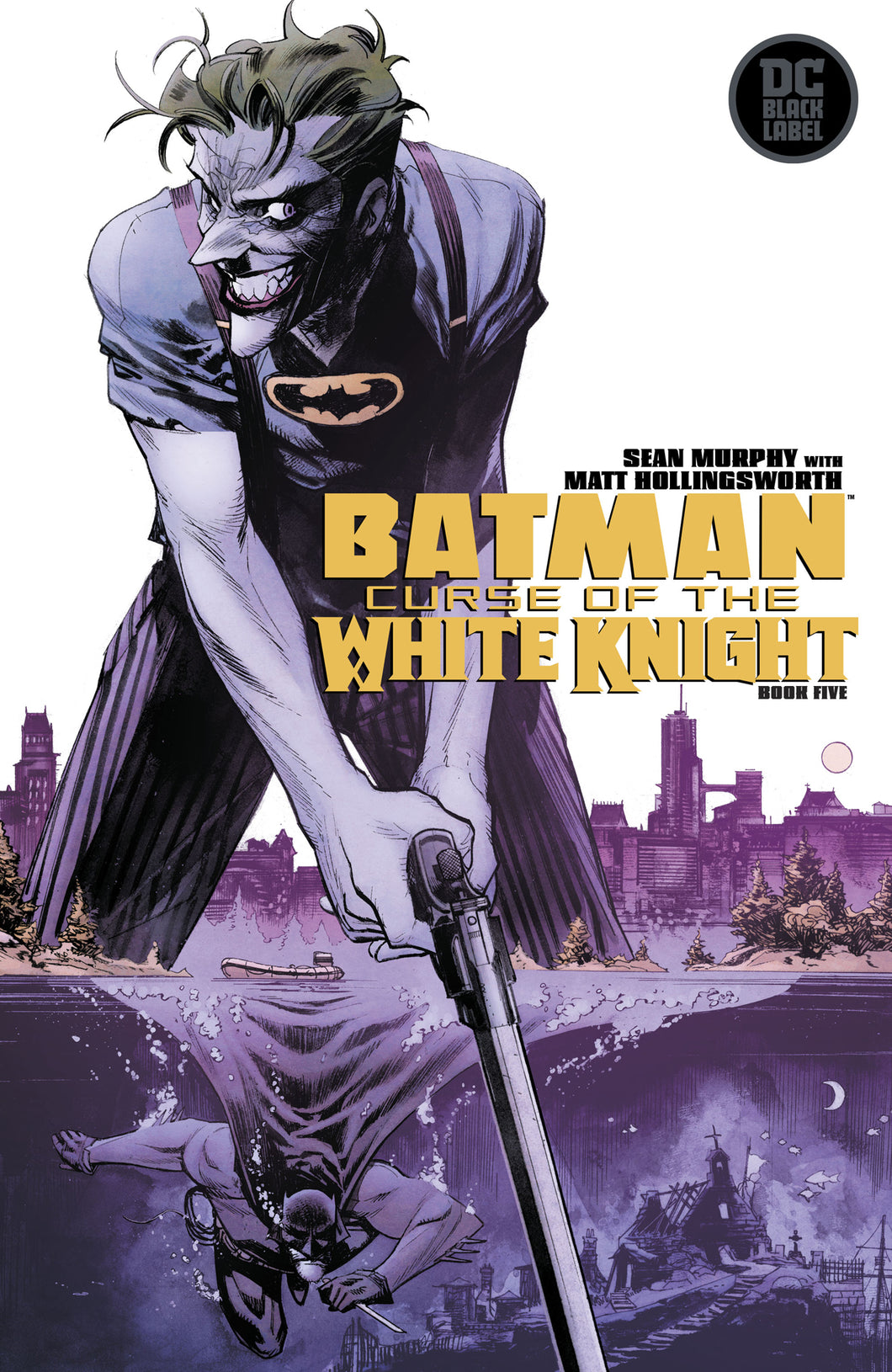 Batman Curse Of The White Knight #5