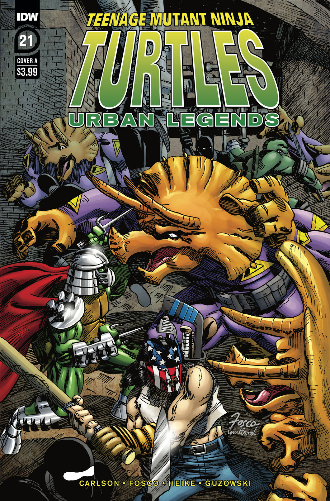Tmnt Urban Legends #21