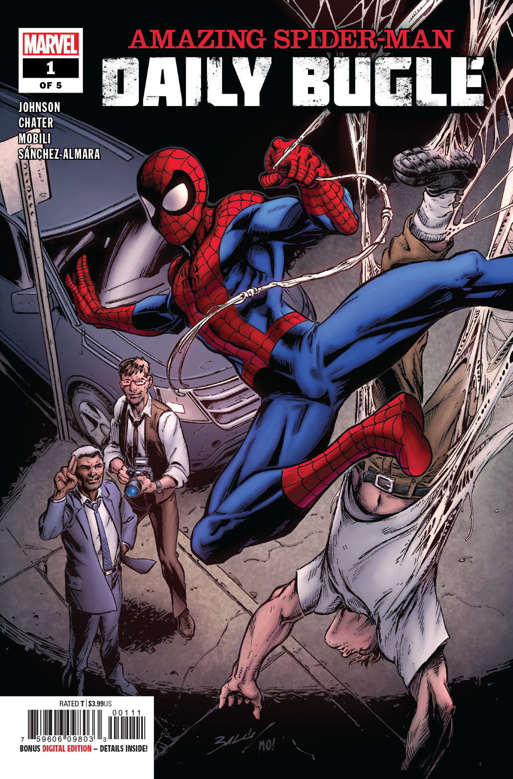 Amazing Spider-Man Daily Bugle #1