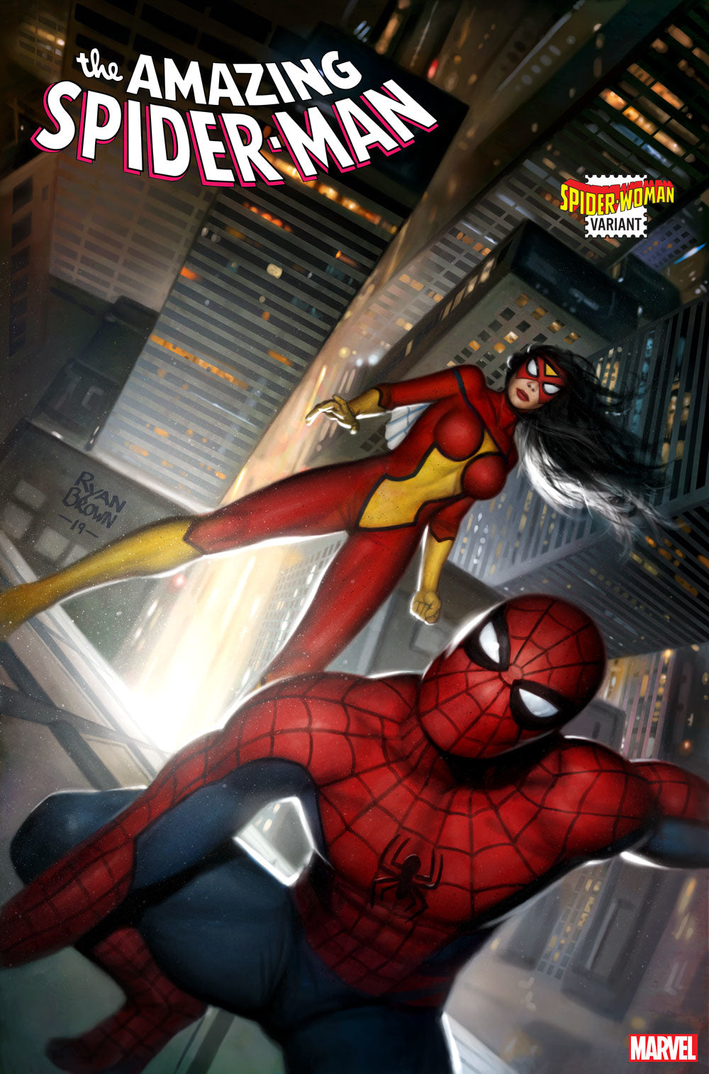 Amazing Spider-Man #41  Garbett Spider-Woman Var 2099