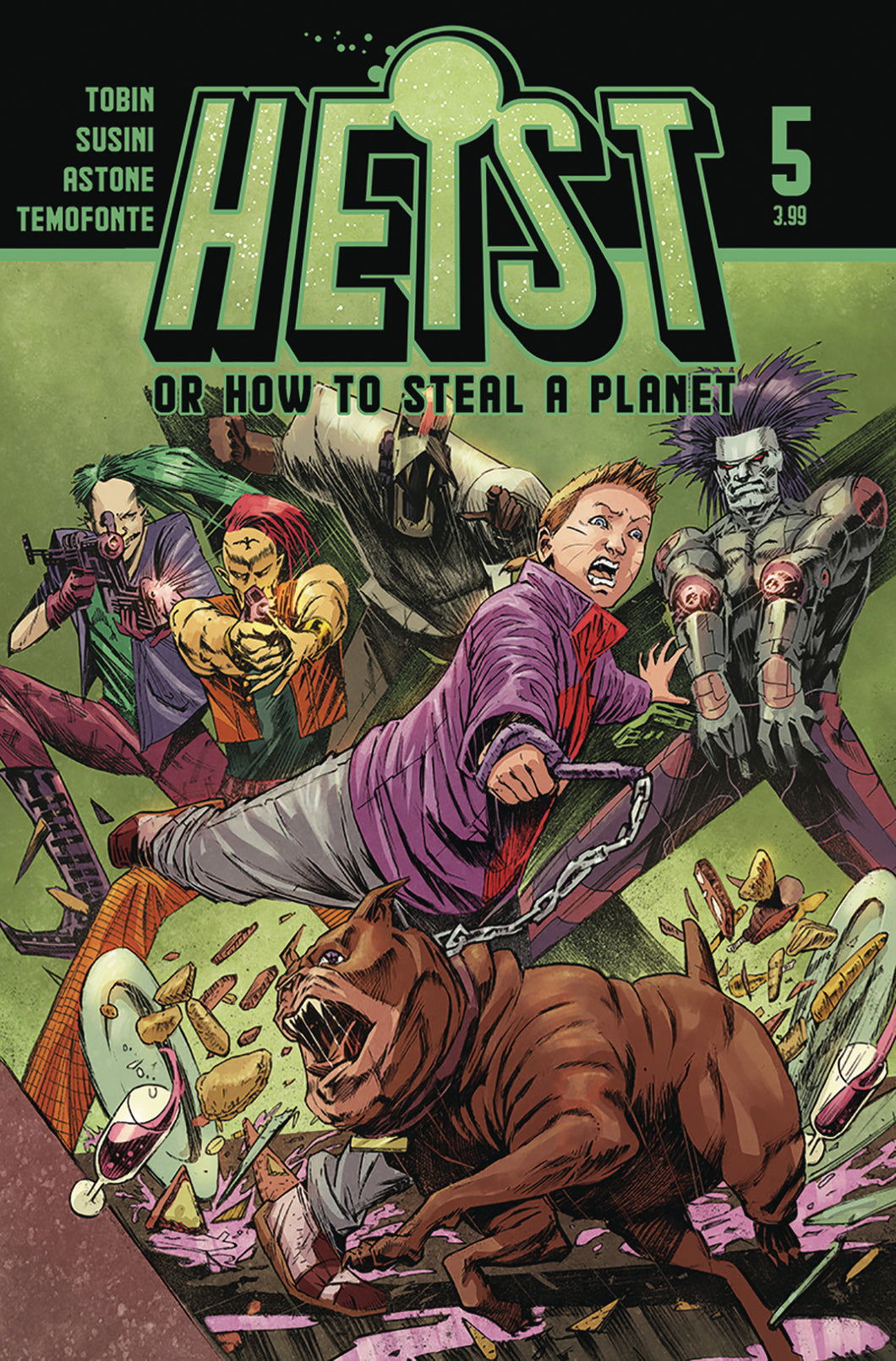 Heist How To Steal A Planet #5
