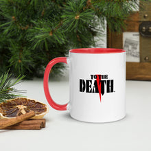 Load image into Gallery viewer, To The Death Logo Mug