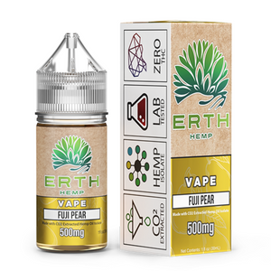 ERTH Hemp CBD Vape Juice 500 MG - FUJI PEAR