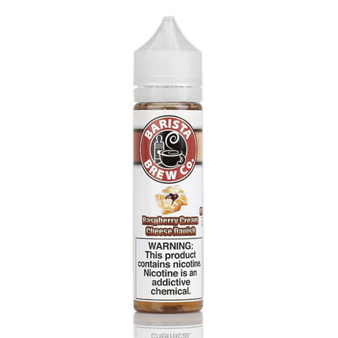 Barista Brew - Raspberry Cream Cheese Danish - 0mg 60ml
