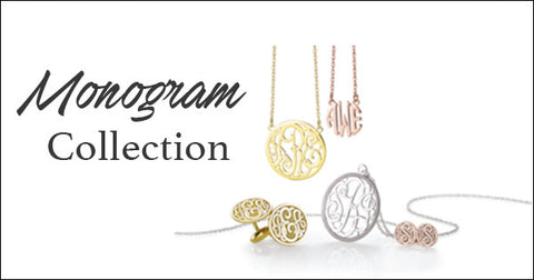 Monogram, Initial & Name Jewelry