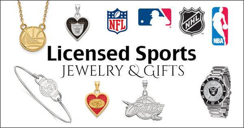 Licensed Sports Jewelry & Gifts