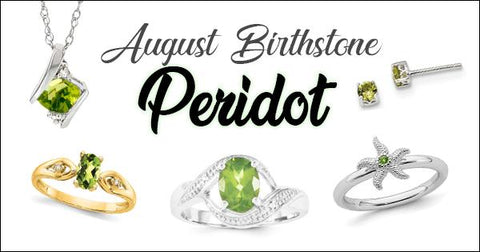 August Birthstones