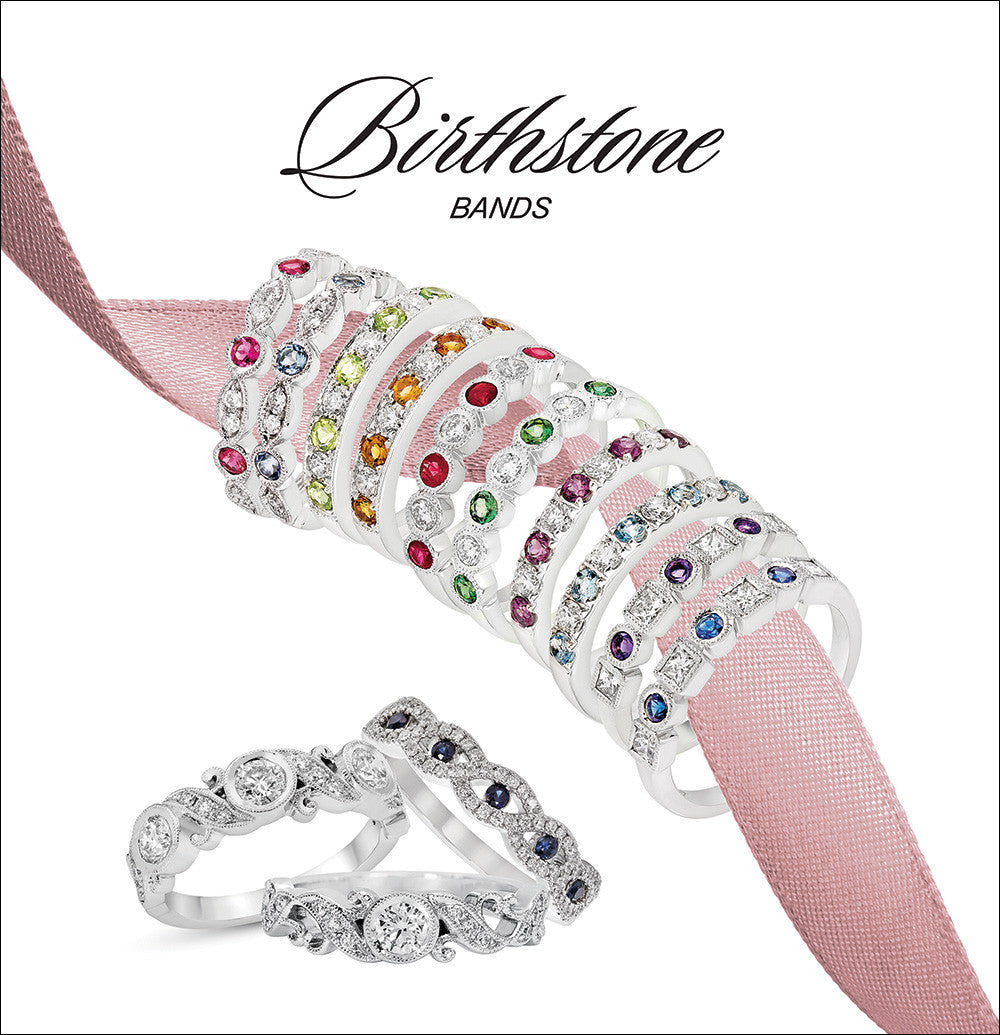 Birthstone Bands Collection