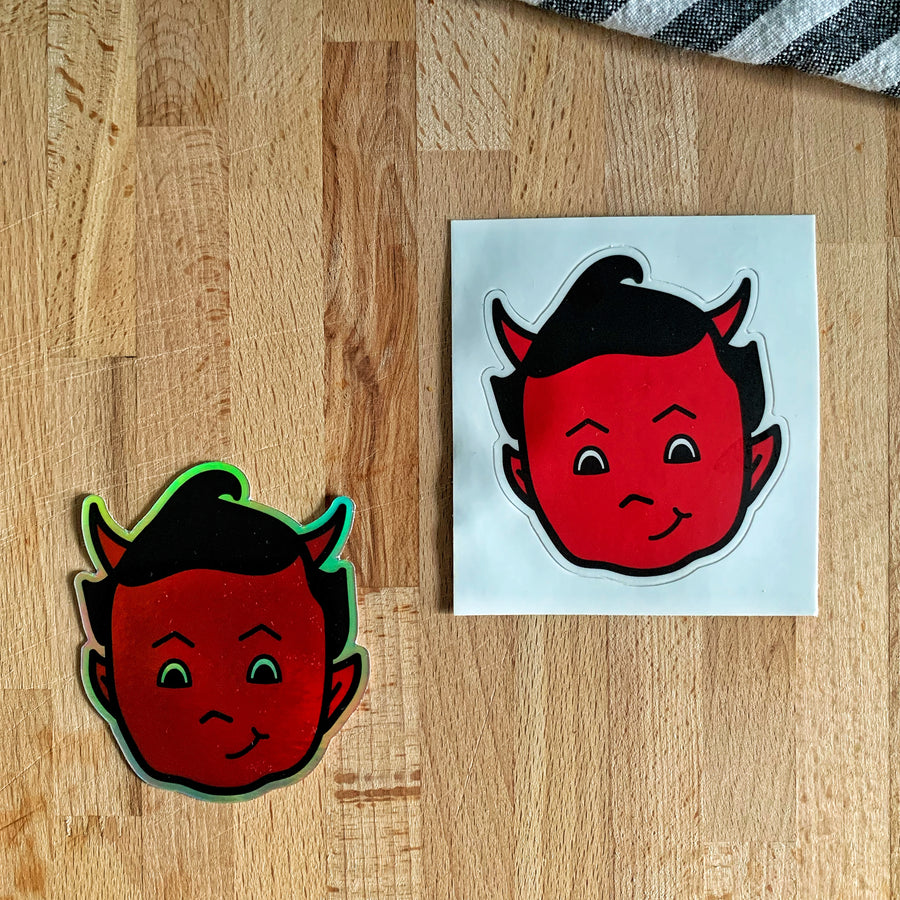 Official Sticky Devil Heads