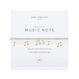 Joma Jewellery | a little Music Note Bracelet