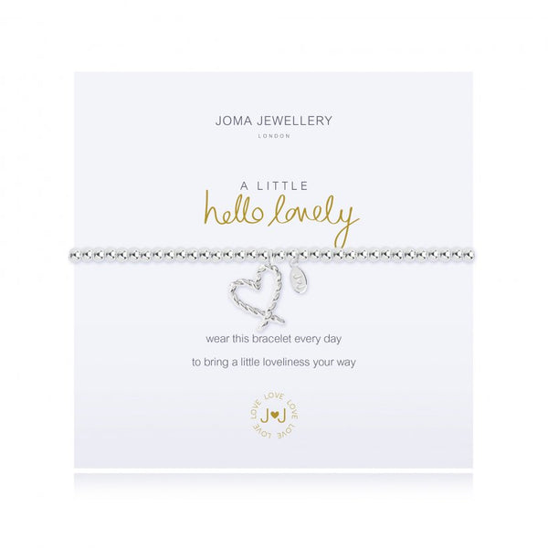 Joma Jewellery | a little Hello Lovely Bracelet