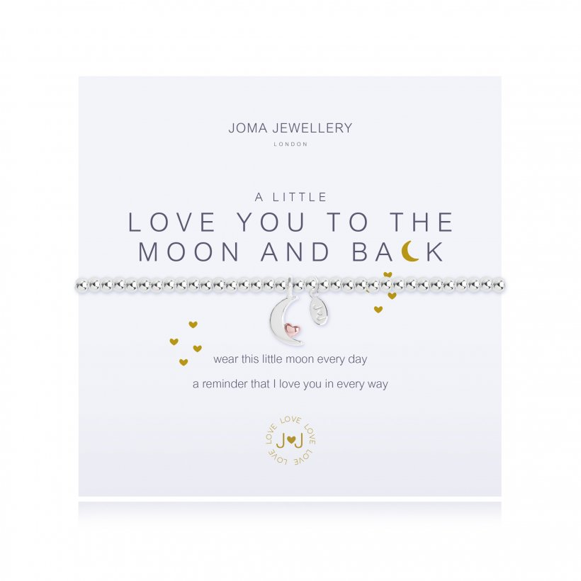 Joma Jewellery | a little Love you to the Moon and back Bracelet