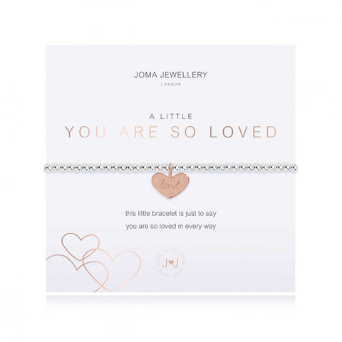 Joma Jewellry | a little You Are So Loved Bracelet