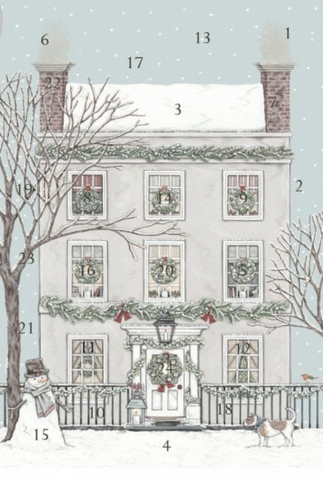 Sally Swannell | Christmas Townhouse