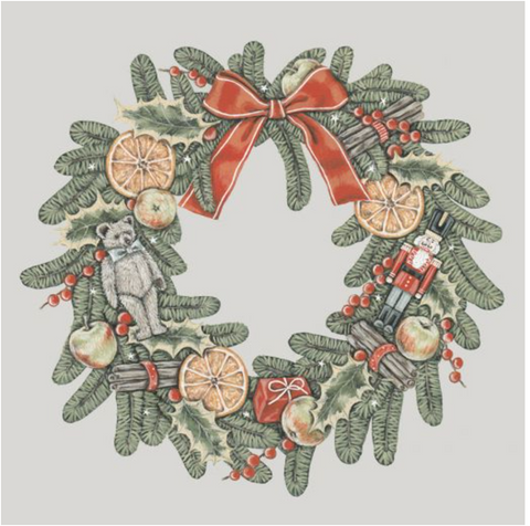 Sally Swannell | Wreath |Card Set