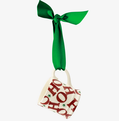 Emma Bridgewater | Hohoho Tiny Mug Tree Decoration Boxed