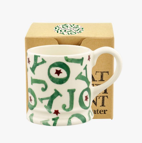 Emma Bridgewater | Joy Tiny Mug Tree Decoration Boxed
