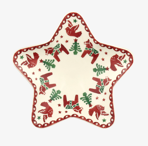 Emma Bridgewater | Christmas Joy Small Star Plate