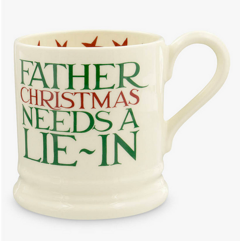 Emma Bridgewater |  Father Christmas Half Pint Mug,