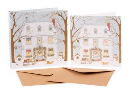 Sally Swannell | 'Christmas House' Card Set