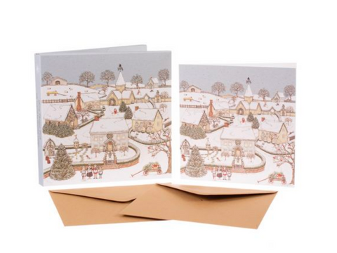 Sally Swannell | 'Snowy Village' Card Set