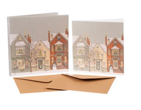 Sally Swannell | 'Snowy Street' Card Set