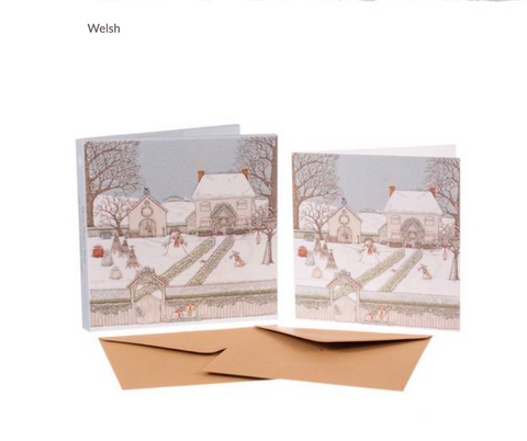 Sally Swannell | Snowy Garden' Card Set